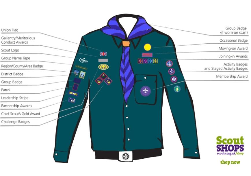 20th Todmorden scout group-scout-uniform